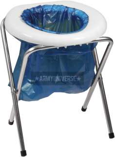 Portable Camp Toilet Camping Commode 613902056008