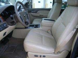 2012 Chevrolet Silverado Crew Leather Interior seat covers   TAN
