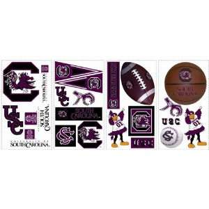 South Carolina Gamecocks Kids Removable Wall Graphics Stickers