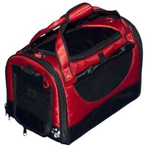 Pet Gear World Traveler Tote Bag Pet Carrier in Ruby Red Dogs
