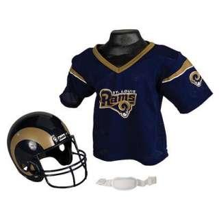 Franklin Sports NFL Rams Helmet/Jersey Set.Opens in a new window