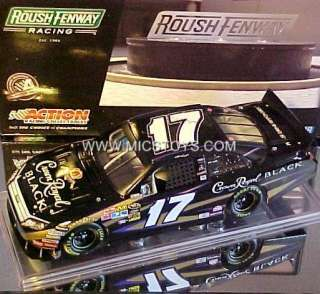 Kenseth Black Crown Royal Roush Ford Fusion 124 Nascar Diecast
