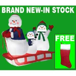 Inflatable Christmas Yard Decorations   Airblown 4 ft. Outdoor