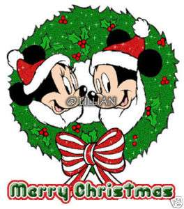 NEW ~DISNEY MICKEY MINNIE CHRISTMAS Cross Stitch KIT