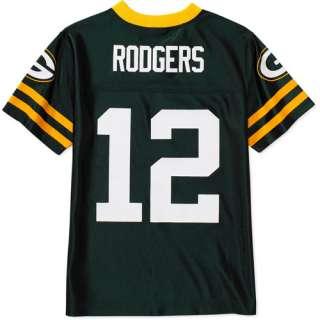NFL   Boys Green Bay Packers #12 Aaron Rogers Jersey