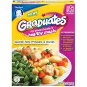 Gerber Graduates Healthy Meals Seashell Pasta Primavera & Chicken