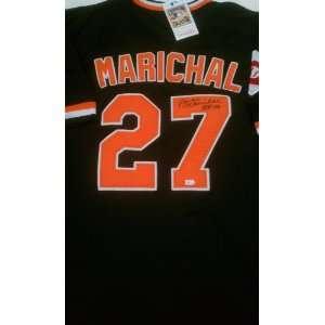 Juan Marichal Signed Authentic San Francisco Giants Jersey