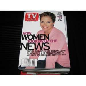 TV Guide (KATIE COURICHow Women Took Over The News