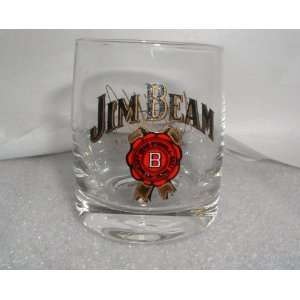 JIM BEAM MICHAEL ANDRETTI #7 SIGNED, COLLECTIBLE SHOT
