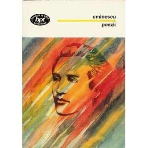 Poezii (9789732106198): Mihai Eminescu, George Gana: Books