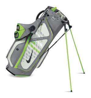 NIKE VAPOR X CARRY Golf Bag   COOL GREY/ACTION GREEN/SWAN