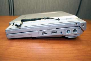 with HP Printer, External DVD Drive, and Carrying Case