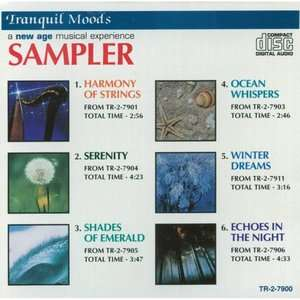Tranquil Moods Sampler, Various Artists   Meditation New Age