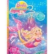 in a Mermaid Tale 2: A Panorama Sticker Storybook Barbie in a Mermaid