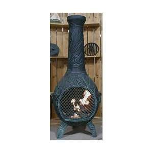The Blue Rooster Orchid Style Chiminea: Patio Furniture