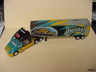JACKSONVILLE JAGUARS 2001 NFL TRACTOR TRAILER TRUCK NEW IN BOX
