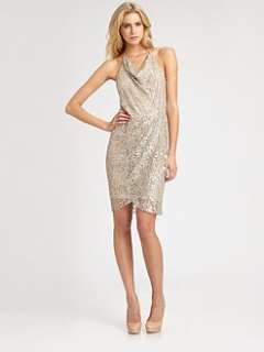 Haute Hippie   Silk Lace Dress