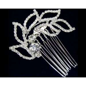 Rhinestone Hair Comb 2301 Beauty