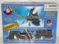 NEW Lionel Polar Express G Gauge Steam Locomotive Train Set 7 11022