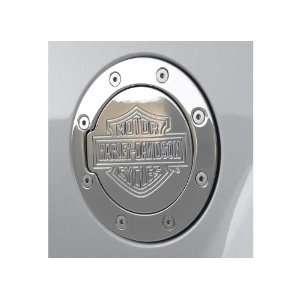 Harley Davidson Billet Fuel Door Cover