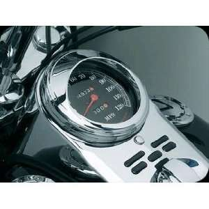 112 Speedometer Trim Ring With Visor For Harley Davidson Automotive