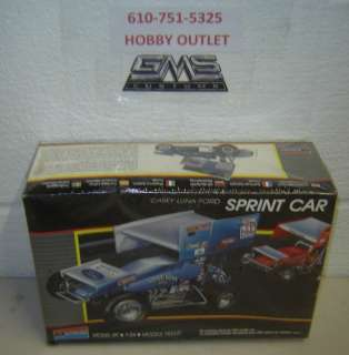 MONOGRAM Model Kit 2775 CASEY LUNA FORD SPRINT CAR 1/24 GMS CUSTOMS