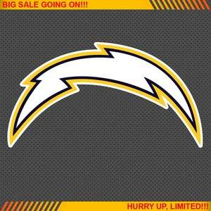Diego Chargers NFL Football Logo Car Bumper Window Wall Sticker