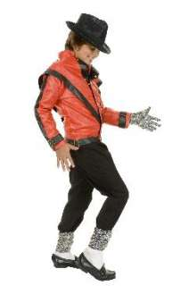 CHILD LICENSED MICHAEL JACKSON THRILLER COSTUME JACKET