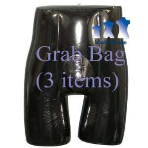 Grab Bag of 3 Inflatable Mannequins, Male Brief Form