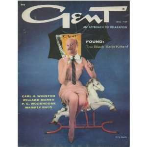 GENT Vintage Mens Magazine April 1959: Everything Else