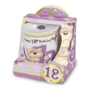 Fizzy Moon Mug & Fridge Magnet   Happy 18th Birthday