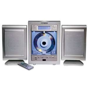Fisher Slim 1400 CD Player Stereo Minisystem: Electronics