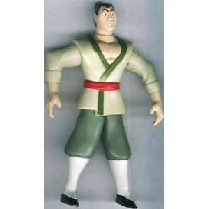 McDonalds Happy Meal Mulan Shang Li Figure INTERNATIONAL