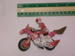Mighty Morphin Power Rangers Pink Ranger w/ Motorcycle