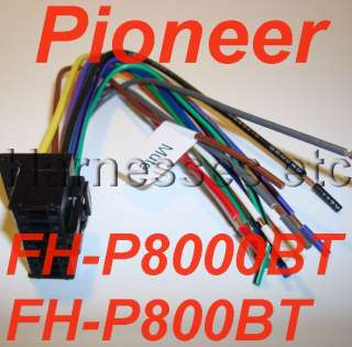 brand new, never used, Pioneer harness for head units listed below