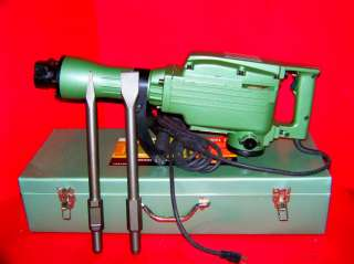 ELECTRIC DEMOLITION JACK HAMMER WITH PUCH CHISEL TOOLS