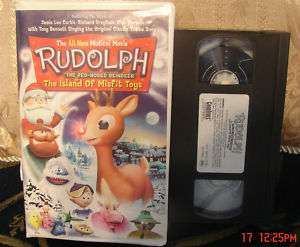 Island of Misfit Toys VHS Video Sequel Plays GREAT 018713774422