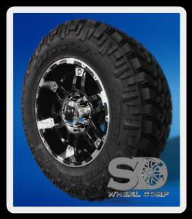 18 WHEELS RIMS XD SPY GLOSS BLACK WITH 285 65 18 NITTO TRAIL GRAPPLER