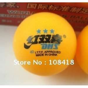 quality goods brand dhs pingpong table tennis balls 3 star dhs balls