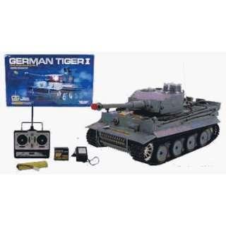 AZ Importer GTR 21 inch German Tiger 1 tank: Toys & Games