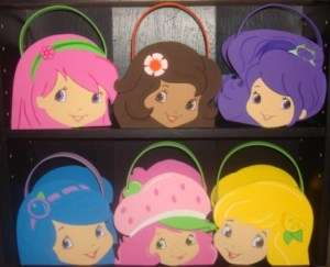 Strawberry Shortcake and friends party bags favors