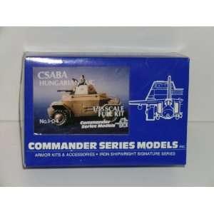 Csaba Hungarian A/C   Resin Armor Model Kit