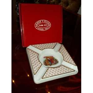 BIDASOA ROMEO Y JULIETA HABANOS ASHTRAY