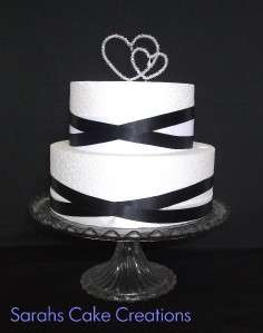 NEW** Heart Wedding Cake Topper Decorations DESIGN COPYRIGHT ID