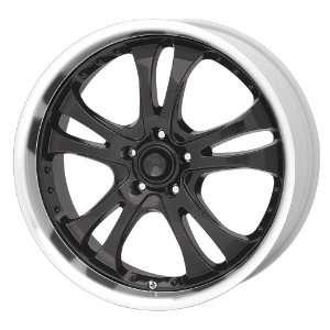 American Racing Casino AR393 Gloss Black Wheel with Machined Lip (20x8