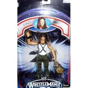 LITA   WWE Wrestling Exclusive Wrestlemania 21 PPV Figure